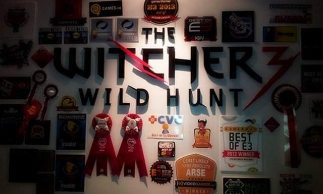 Лучшей игрой E3 2013 стала - The Witcher 3: Wild Hunt