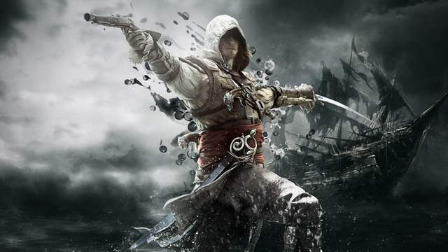 Демонстрация режима невидимки в Assassin's Creed IV: Black Flag