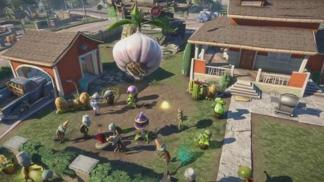 ��� �������� Plants vs Zombies: Garden Warfare � �������� gamescom 2013