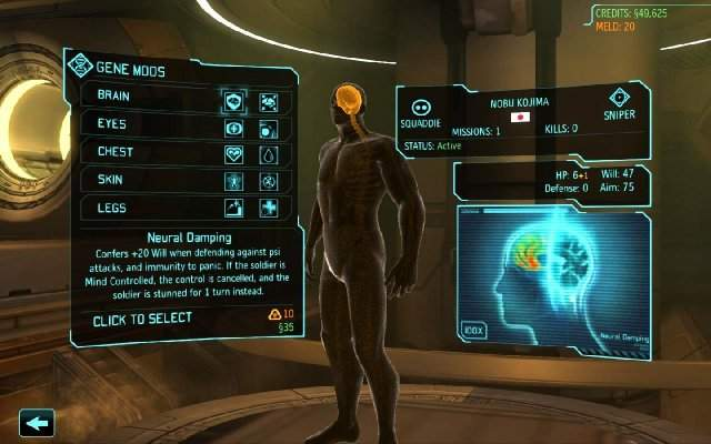 ��������� � ������ ������� ���������� XCOM: Enemy Within