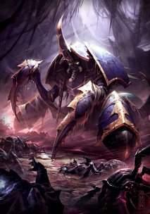 Один из сильнейших пауков-повелителей древнего царства Азжол'Неруб.