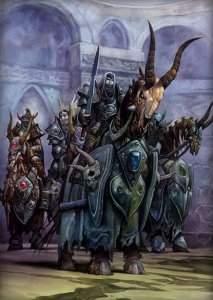 Покои Кел'Тузада охраняют самые могущественные рыцари смерти Наксрамаса.
