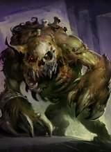 Этот чумной пес Наксрамаса обладает настолько чудовищным аппетитом, что даже плоть живых не может его усмирить.