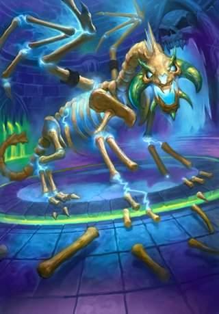 Воскрешенный Сапфирон служит вечным стражем логова Кел'Тузада.