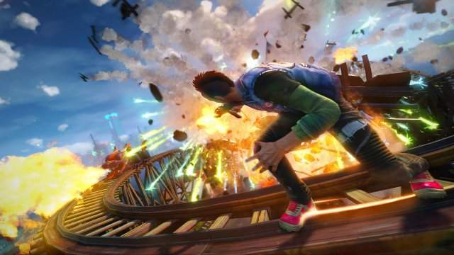 Демонстрация геймплея и интро Sunset Overdrive