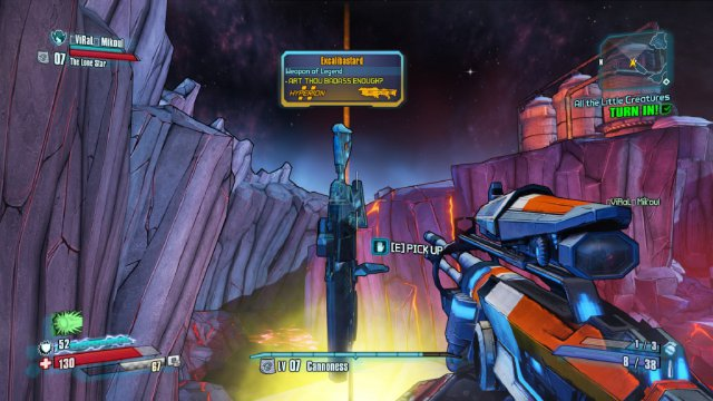 Загадка оружия Excalibastard в Borderlands: The Pre-Sequel разгадана