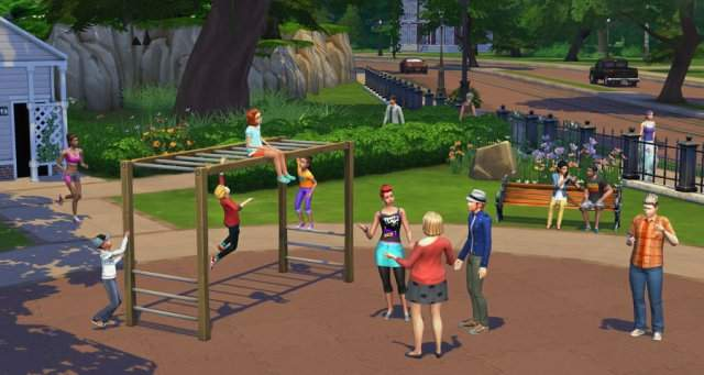 ���-���� �� The Sims 4: ����������� ������������ � ������ ������