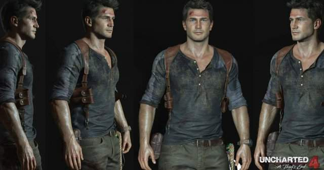 Скриншоты Дрейка из Uncharted 4: A Thief's End