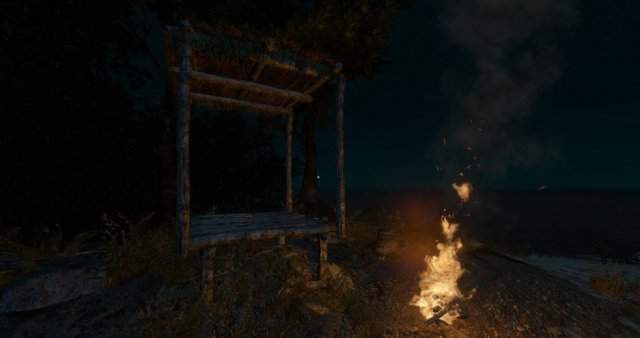 how to build a fire pit stranded deep