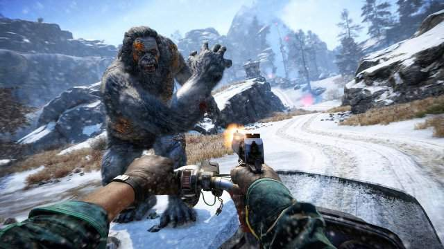 Трейлер и скриншоты дополнения Far Cry 4: Valley of the Yetis