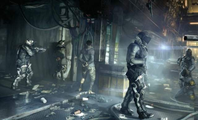 Новые кадры Deus Ex: Mankind Divided