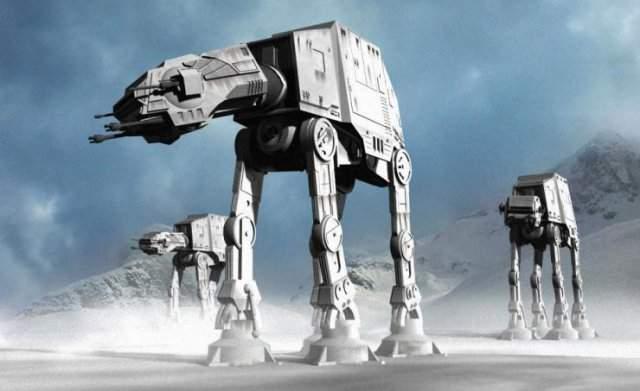 ArmA 3: рабочий вариант AT-AT в моде Star Wars