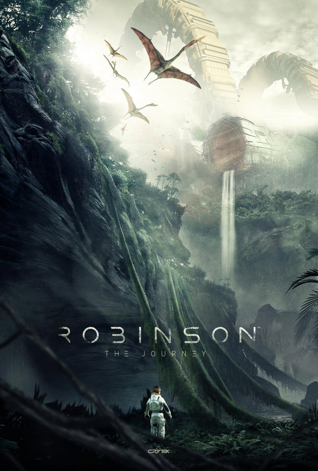 E3 2105: анонс Robinson The Journey от Crytek