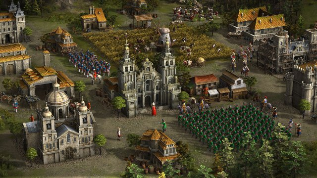 Первый видеоскриншот Cossacks 3