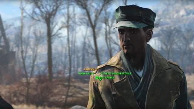 Fallout 4 объятия любовника что дает