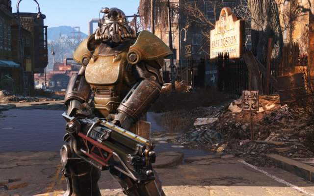 Гайд по Fallout 4: поиск силовой брони