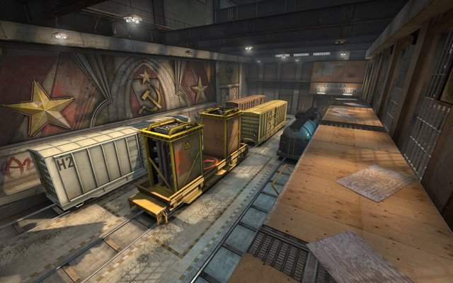 Карта Train получит апгрейд в Counter-Strike: Global Offensive