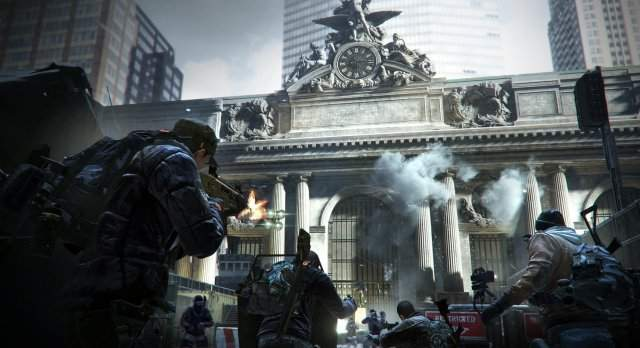 Tom Clancy's The Division уже в деле
