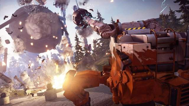 DLC Just Cause 3: Mech Land Assault -  Рико Родригес vs мехи