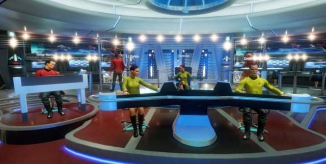 E3 2016: анонс VR-кооператива Star Trek: Bridge Crew