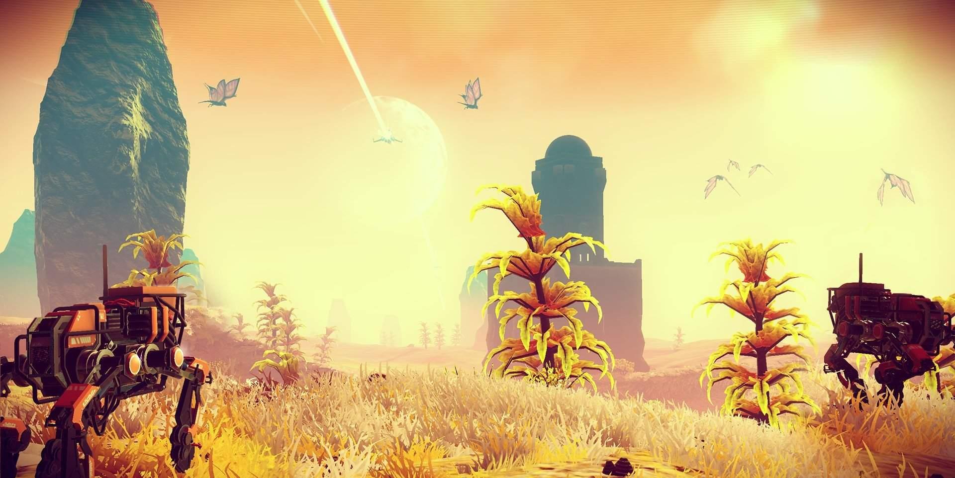 ВNoMan's Sky разрешили строить базы