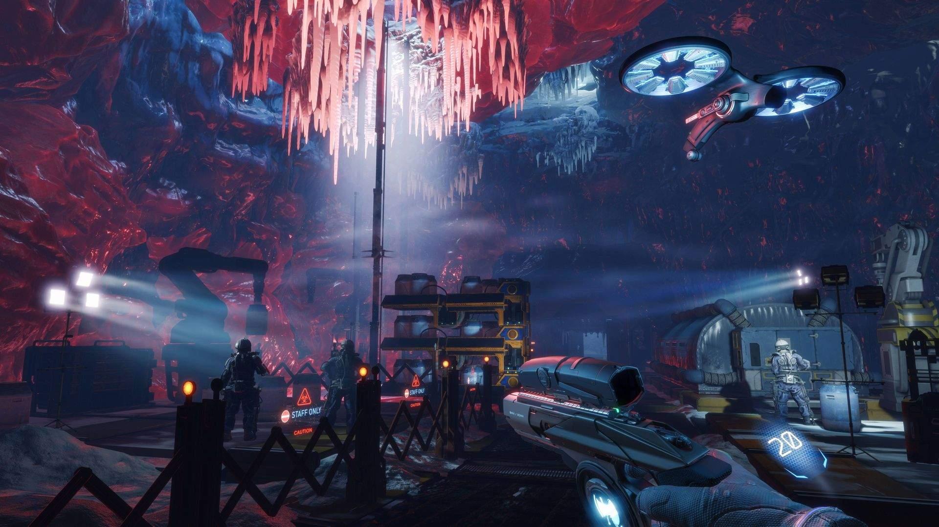 Компания 4А Games представила вweb-сети геймплей шутера Арктика.1