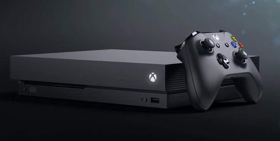 Microsoft представила новейшую приставку Xbox One X