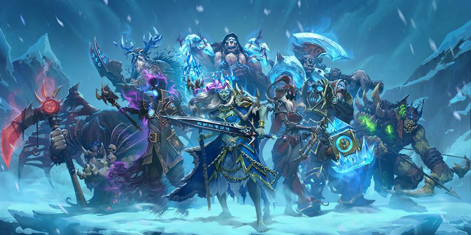Blizzard представила дополнение «Рыцари Ледяного Трона» для Hearthstone